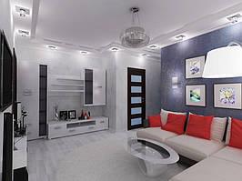 Дизайн двухкомнатной квартиры (90 м²) 4