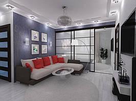 Дизайн двухкомнатной квартиры (90 м²) 5