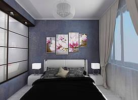 Дизайн двухкомнатной квартиры (90 м²) 6