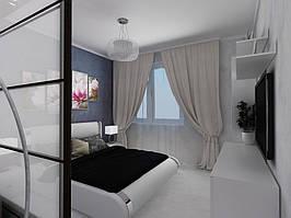 Дизайн двухкомнатной квартиры (90 м²) 8