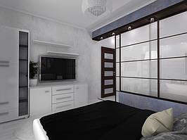 Дизайн двухкомнатной квартиры (90 м²) 10