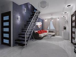 Дизайн двухкомнатной квартиры (90 м²) 11