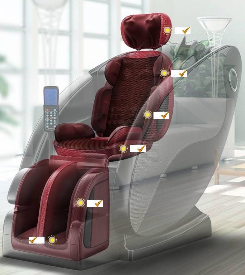 Массажер на кресла массажеры сатурн