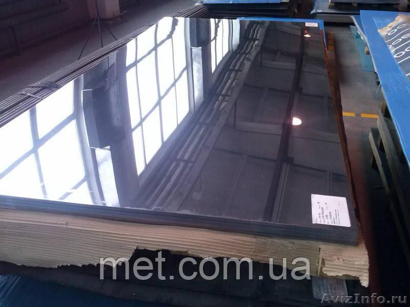 Лист нержавеющий пищевой 80 мм сталь 12Х18Н10Т