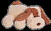 Плюшевая Собачка Алина Шарик 55 см персиковый
