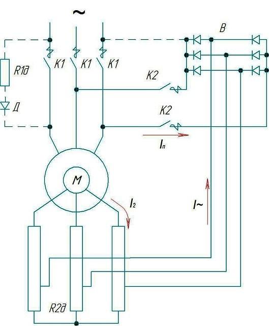 Схема крановой панели ТСД