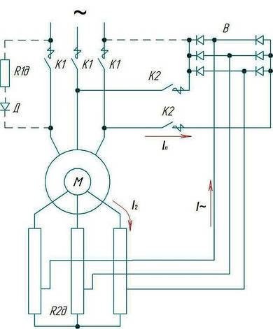 Схема крановой панели ТСД, фото 2