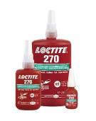 LOCTITE 270 высокопрочный резьбовой фиксатор для неразбрных соединений 10ML