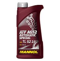 Трансмиссионное синтетическое масло MANNOL ATF AG52 1л.