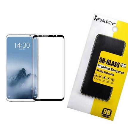 Защитное стекло iPaky для Meizu 16 Черный (iP3733), фото 2
