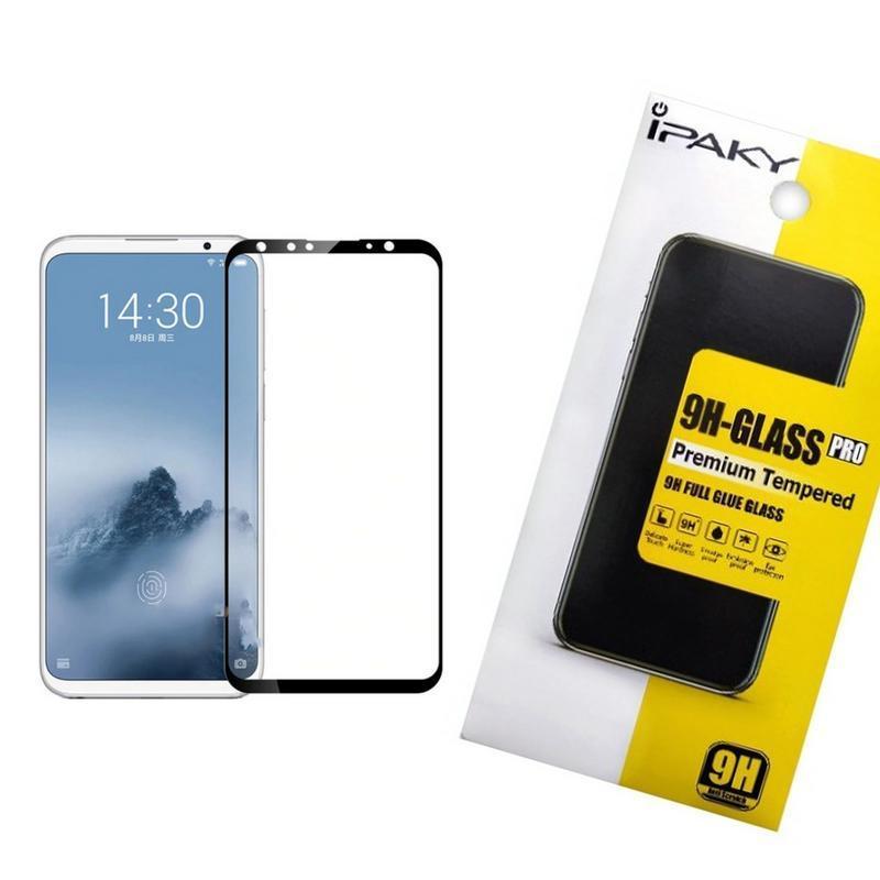 Защитное стекло iPaky для Meizu 16 Черный (iP3733)