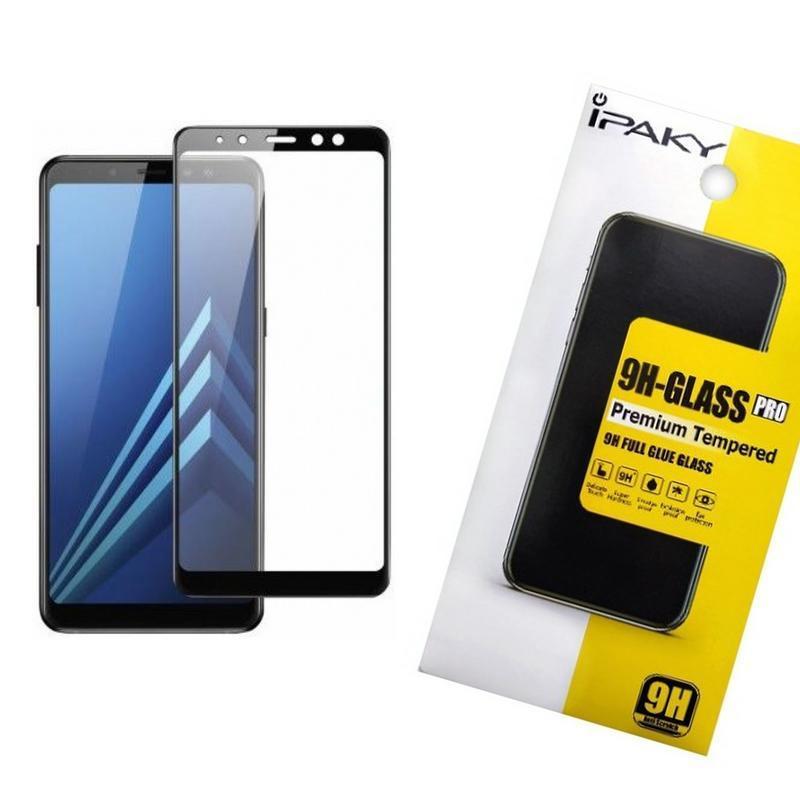 Защитное стекло iPaky для Samsung A730 (A8 Plus 2018) Черный (iP3745)