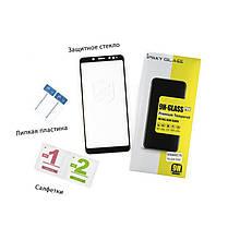Защитное стекло iPaky для Samsung A730 (A8 Plus 2018) Черный (iP3745), фото 3