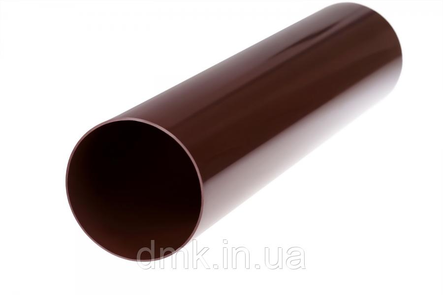 Труба водостічна Profil 75 коричнева 4м