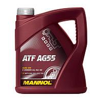 Трансмиссионное синтетическое масло MANNOL ATF AG55 4л.