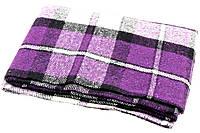 Шерстяной плед детский Vladi Palermo (Влади Палермо) Фиолетовый 100х140 Шерсть 20% (3050)