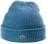 Теплая шапка Lacoste (ориг.бирка) коричневый, фото 3