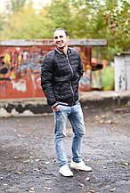 Стильная теплая мужская куртка-бомпер