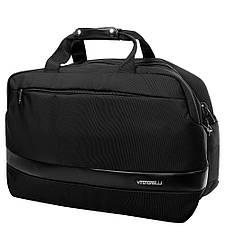 Дорожная сумка с карманом для ноутбука  VITO TORELLI (ВИТО ТОРЕЛЛИ) VT-K610-black, фото 2