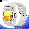 Умные часы Smart Watch V8 сенсорные - смарт часы Белые (s94), фото 4