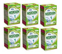 Nestle. Смесь Nestogen 1 (c рождения до 6 m), 6х700 г. (376001)