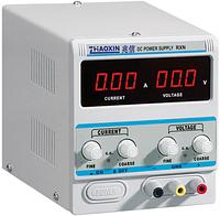 Лабораторний блок живлення ZHAOXIN RXN-605D 0-60V/0-5A