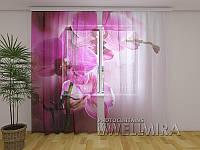 ФотоТюль Пурпурная орхидея