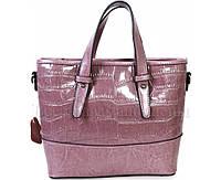 Стильная женская кожаная сумка фиолетового цвета от SK Leather Collection SK6011-VIOLET