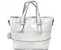 Стильная женская кожаная сумка белого цвета от SK Leather Collection SK6011-WHITE