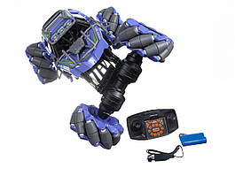 Светящаяся трюковая машинка-багги на пульте управления 2.4 ГГц Stunt Climbing Car (SL-193A) фиолетовая