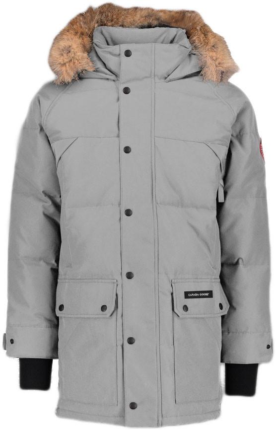 Зимняя парка Canada Goose (Premium-class) +3°C (-30°С) серая