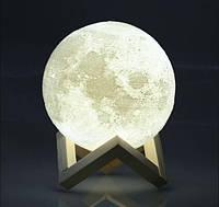Чудовий подарунок ! 3D Moon Lamp, ночник светильник луна, Moon Touch Control 15 см, 5 режимов   AG440086