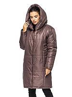 Куртка зимняя женская удлиненнаяя, фото 1