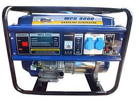 Электрогенератор бензииновый 6.5 кВт., ручной старт, Werk WPG8000 (43238)