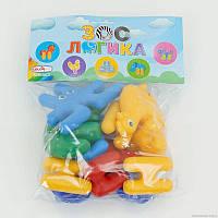 Конструктор-пазл Color Plast Зоо Логика - 180371