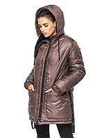 Зимняя женская куртка удлиненная от производителя, фото 1