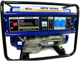 Генератор бензиновый 5.5 кВт., четырехтактный, ручной старт, Werk WPG6500 (43237)