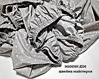 Простинь на резинці 160*200см (Бязь, 100%бавовна)
