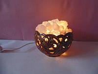 Соляная лампа Лилия малая