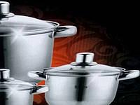 Набор Кухонной Посуды Houseberg HB 10008 Набор Кастрюль 8 Предметов, фото 1