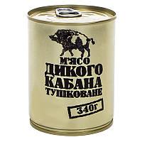Тушенка из дикого кабана, консерва (340г), ж/б