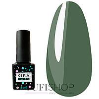 Гель-лак Kira Nails №147 - зелено-изумрудный, 6 мл