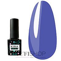 Гель-лак Kira Nails №156 - сине-голубой, 6 мл