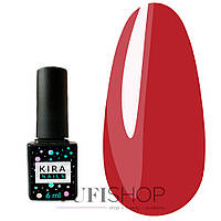 Гель-лак Kira Nails №163 - алая роза, 6 мл