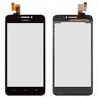 Touchscreen (сенсорный экран) для Huawei Ascend G630-U10, оригинал (черный)