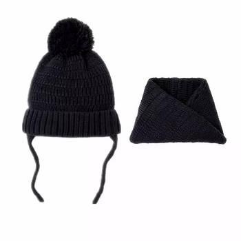 Детский комплект шапка и снуд Berni Серый (52444)