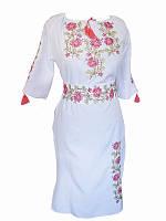 Платье с вышивкой Женская прихоть (Платья с вышивкой в украинском стиле)