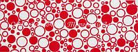 Декоративная бордюрная лента — Пенка красная - Н40 мм - 500 м