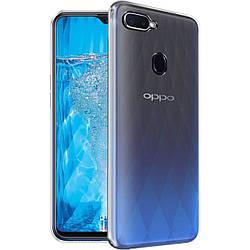 Чехол для OPPO A5 / A3S / AX5 / R15-NEO ультратонкий 1,0mm Epic Transparent, TPU