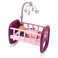 Колыбель с мобилем для пупса Прованс Baby Nurse Smoby 220343